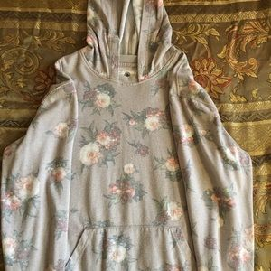 On the Byas Floral Pullover Hoodie